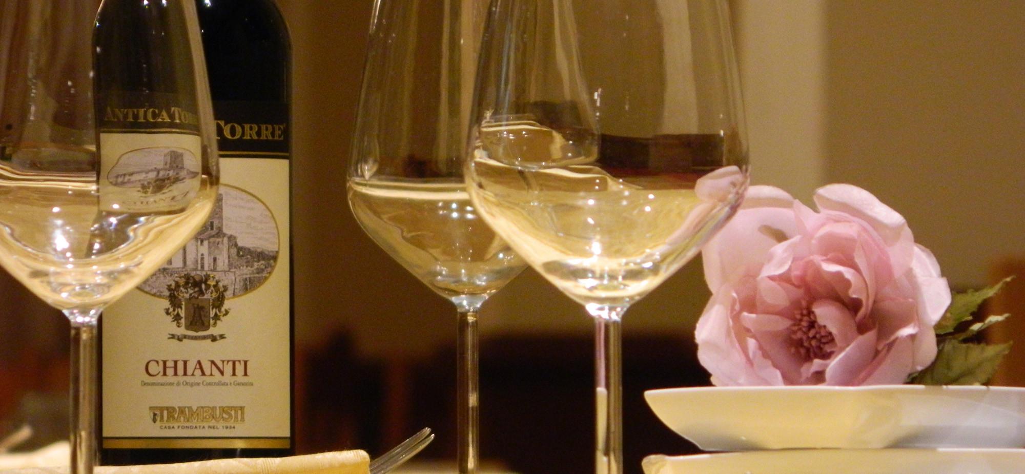 Ristorante La Mandragola - Chianti e Bicchieri